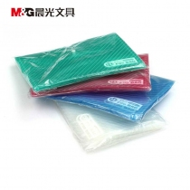 M&G晨光按扣文件袋A4纽扣收纳袋防水资料袋ADM94516钮扣公文袋